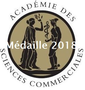 Médaille Académie des Sciences Commerciales