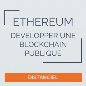Formation blockchain en ligne, Ethereum, smart contract
