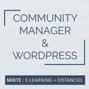 Formation community manager, réseaux sociaux - formation wordpress