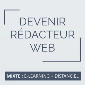 formation Devenir rédacteur web à distance